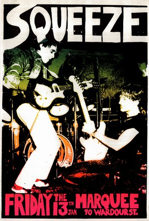 1978-01-3 Marquee Club poster