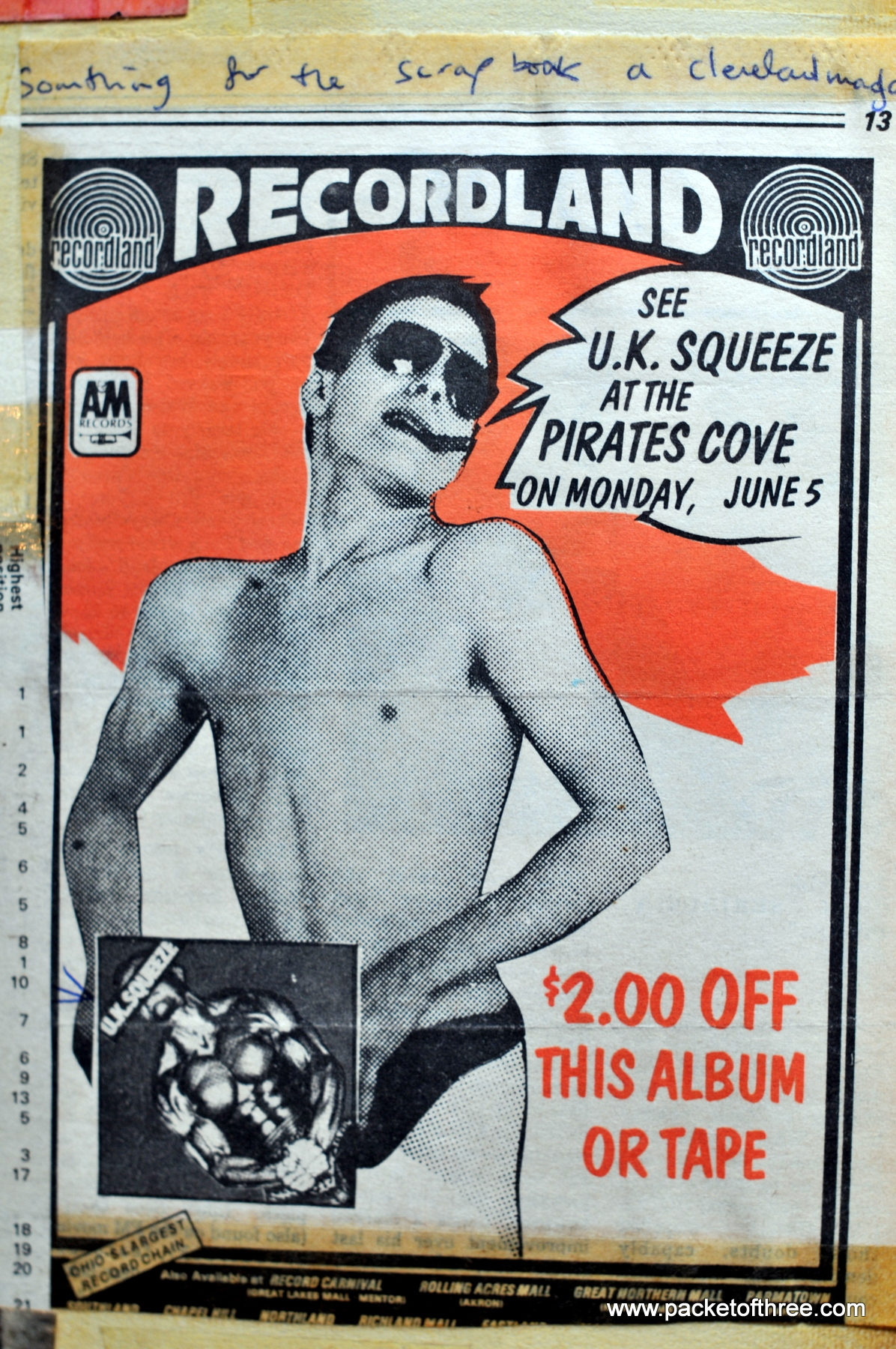 1978-06-05 Pirate's Cove advert