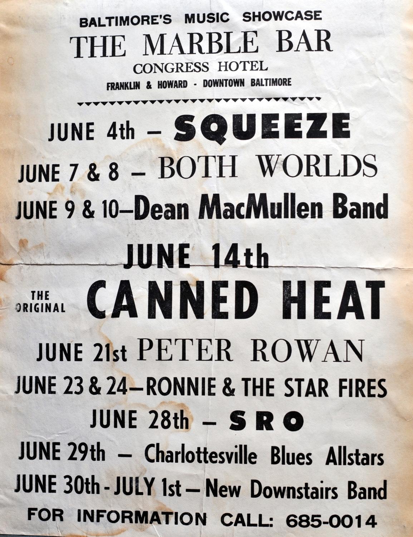4 June 1978 poster