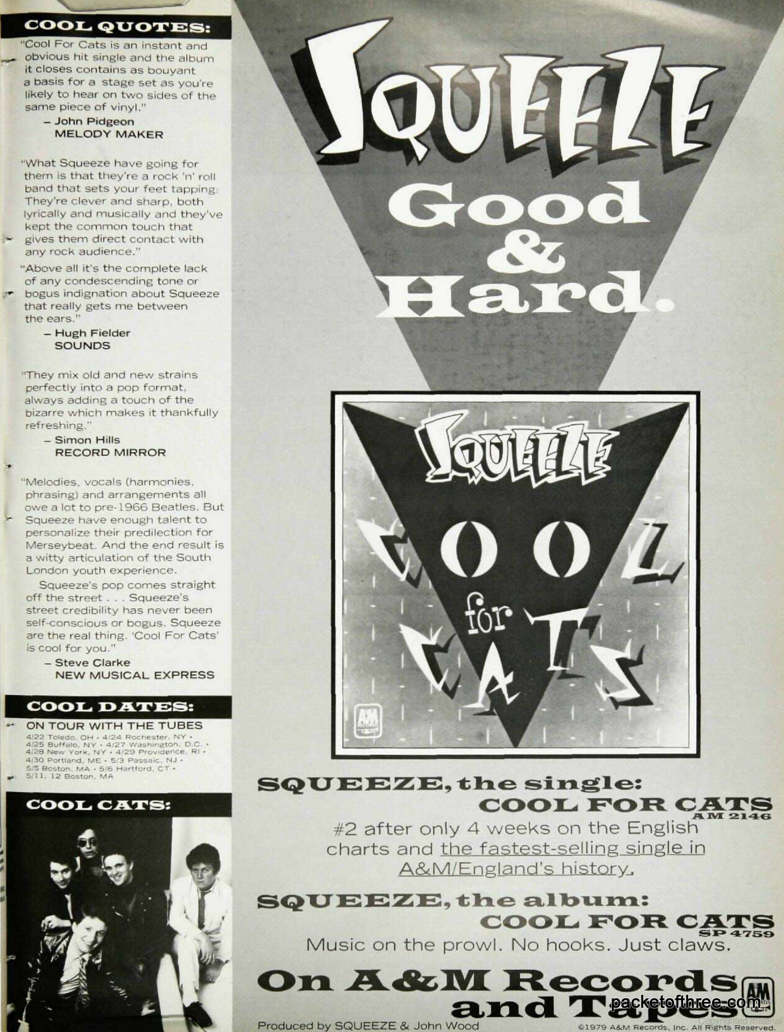 USA Tour ad 1979