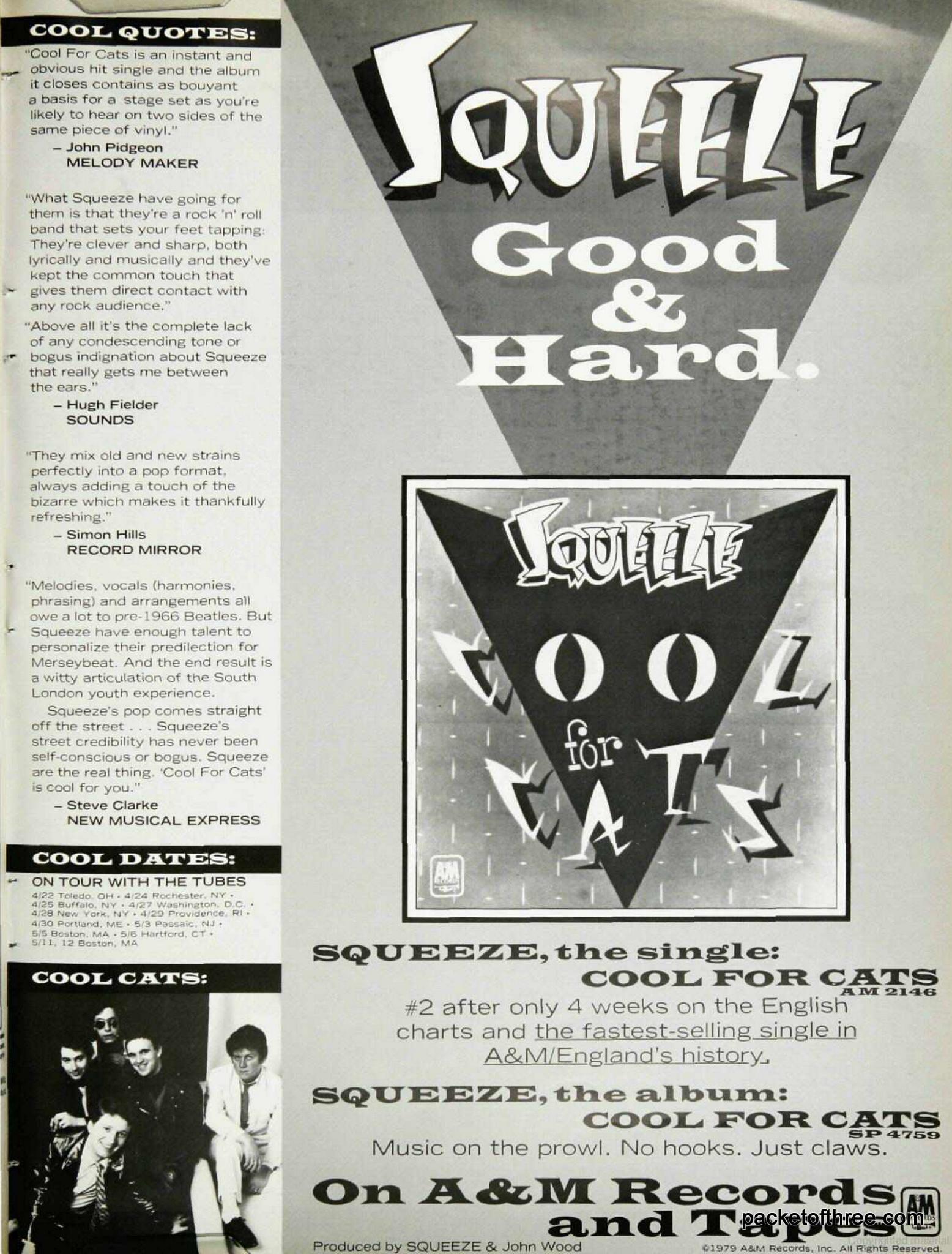 USA Tour ad 1979