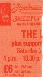 Squeeze - 26 July 1980 - live at  Milton Keynes Bowl
