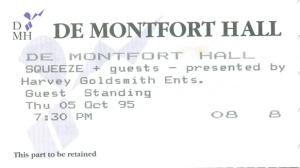 1995-10-05 ticket