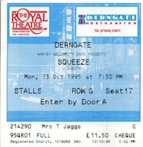 1995-10-23 ticket