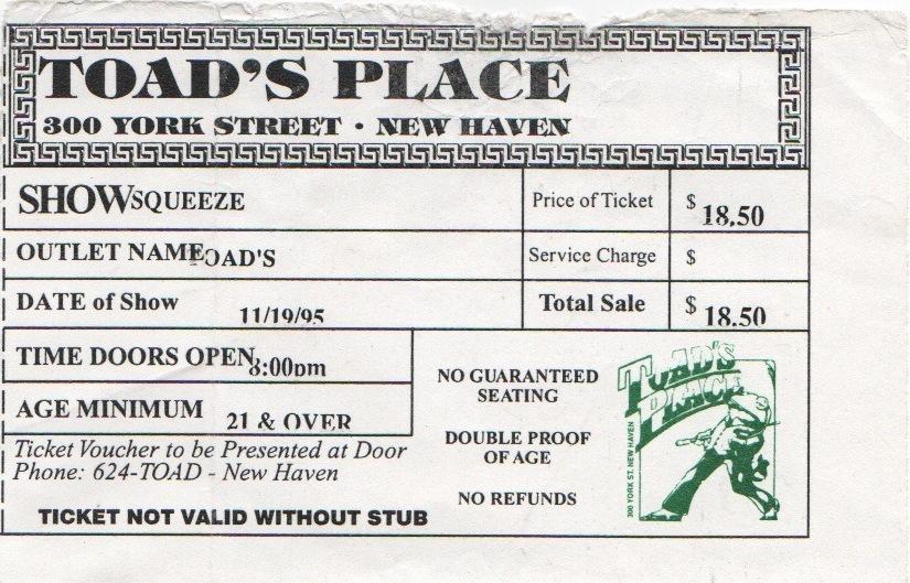 1995-11-19 ticket