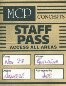 1996-11-27 backstage pass