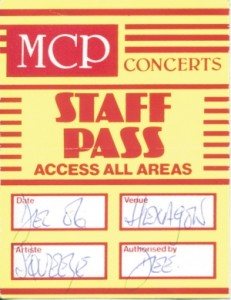 1996-12-06 backstage pass