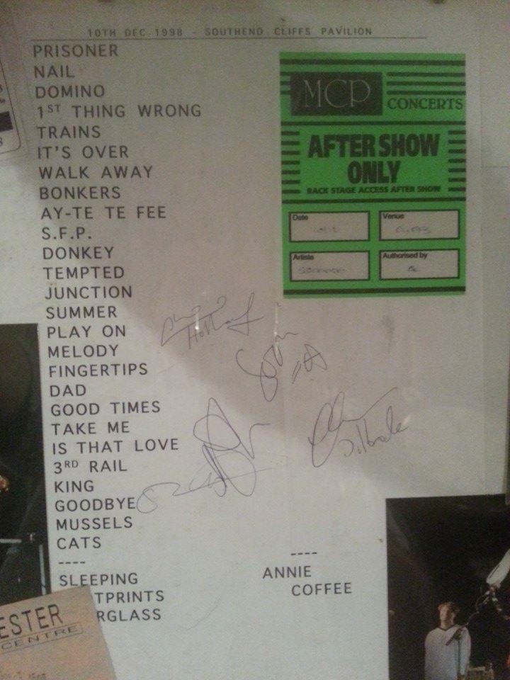 1998-12-10 setlist