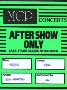 1998-12-12 backstage pass