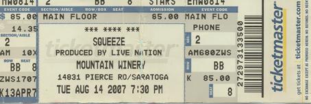 2007-08-14 Ticket