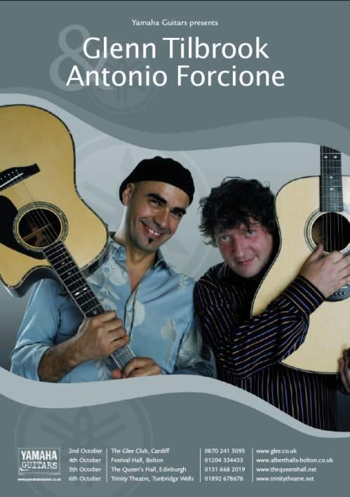 Glenn Tilbrook and Antonio Forcione