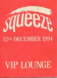 1994-12-12 VIP Lounge pass