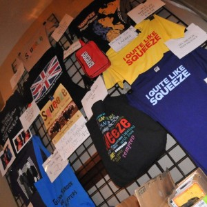 Squeeze US Tour Merchandise 2010