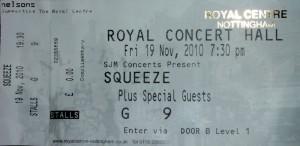 2010-11-19 Ticket