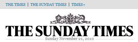 Sunday Times 2010-11-21