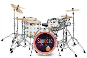 Damien Hirst drums