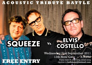 Squeeze v Elvis Costello