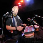 Simon Hanson soundchecks at Colston Hall, Bristol 11 November 2011