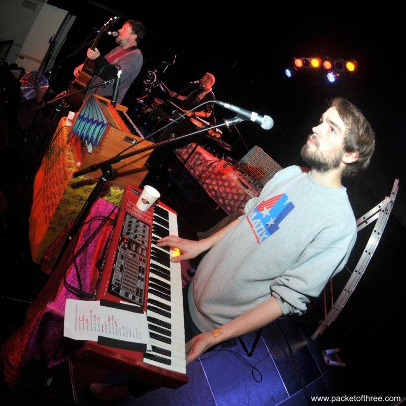 Chris McNally soundchecks at Colston Hall, Bristol 11 November 2011