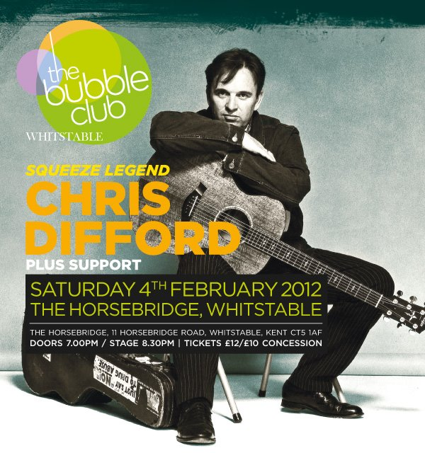 2012-02-04 Chris Difford - The Bubble Club