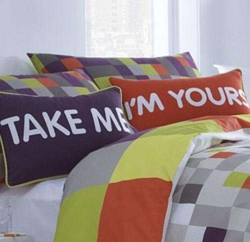 Take Me I'm Yours - cushions