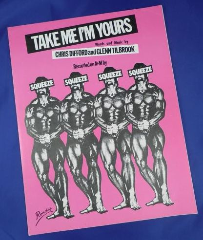 Take Me I'm Yours - sheet music