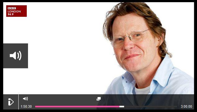 Robert Elms BBC Radio London