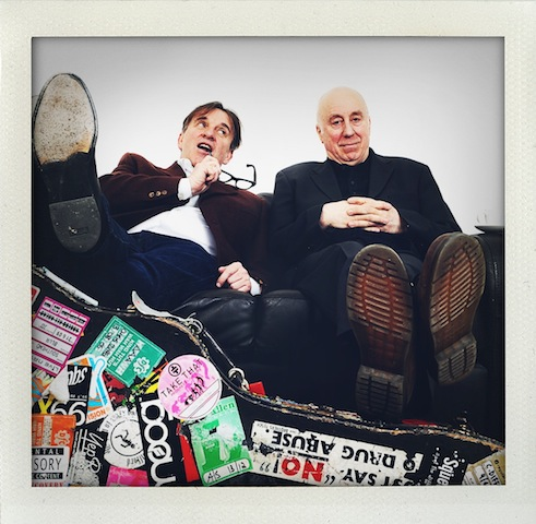 2012-03 Chris Difford and Norman Lovett