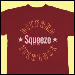 Difford and Tilbrook Tshirt 2012