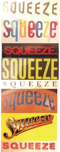 Historic Squeeze logos 2