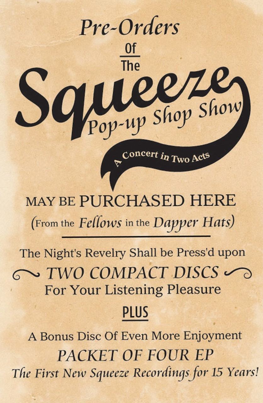Squeeze Pop Up Shop Show
