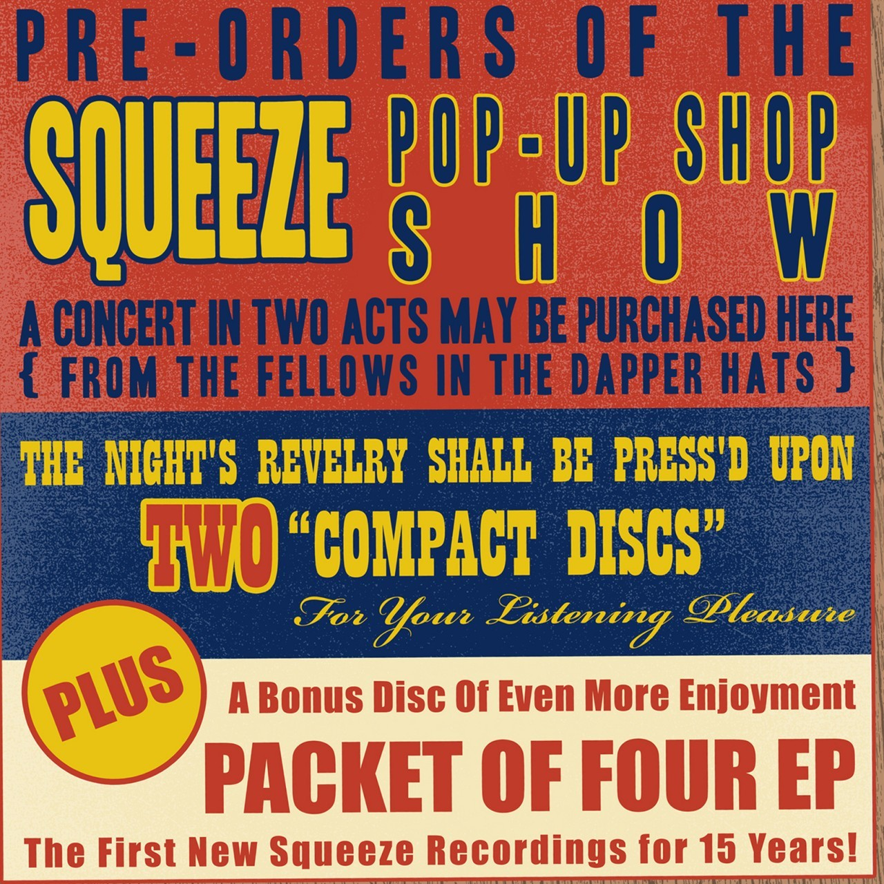 Pop-Up Shop Tour CD