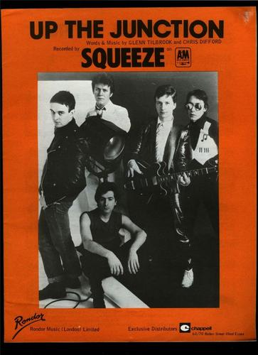 Squeeze - Up the Junction - sheet music