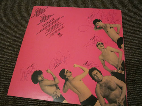 Squeeze - autographed first LP