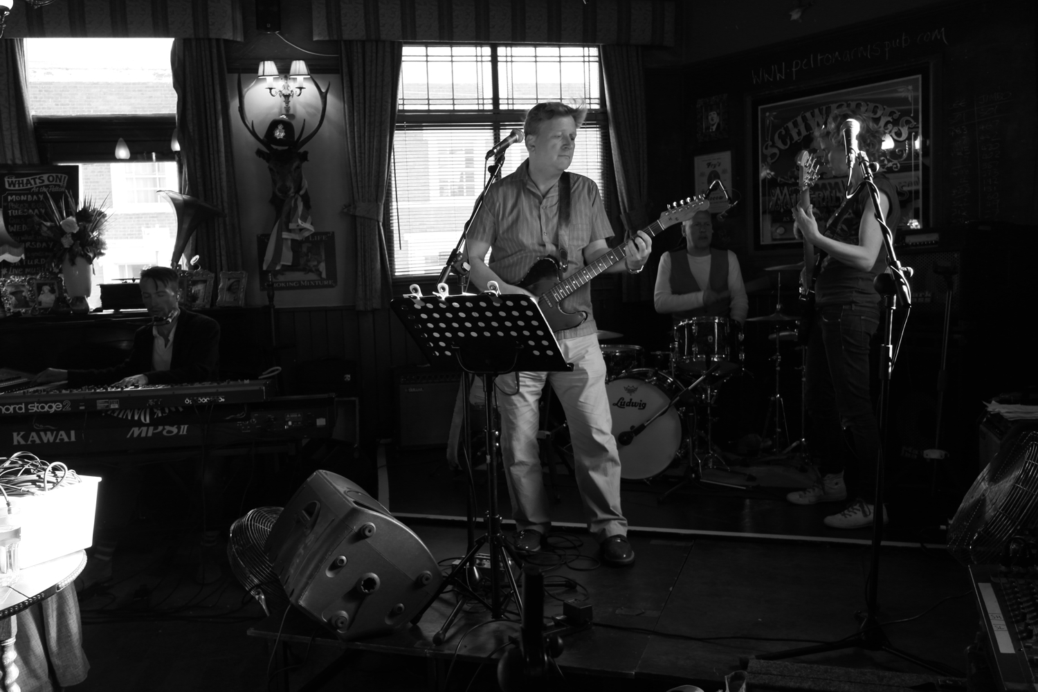Glenn Tilbrook and the Fluffers - 27 May 2013 - live at The Pelton Arms, Greenwich