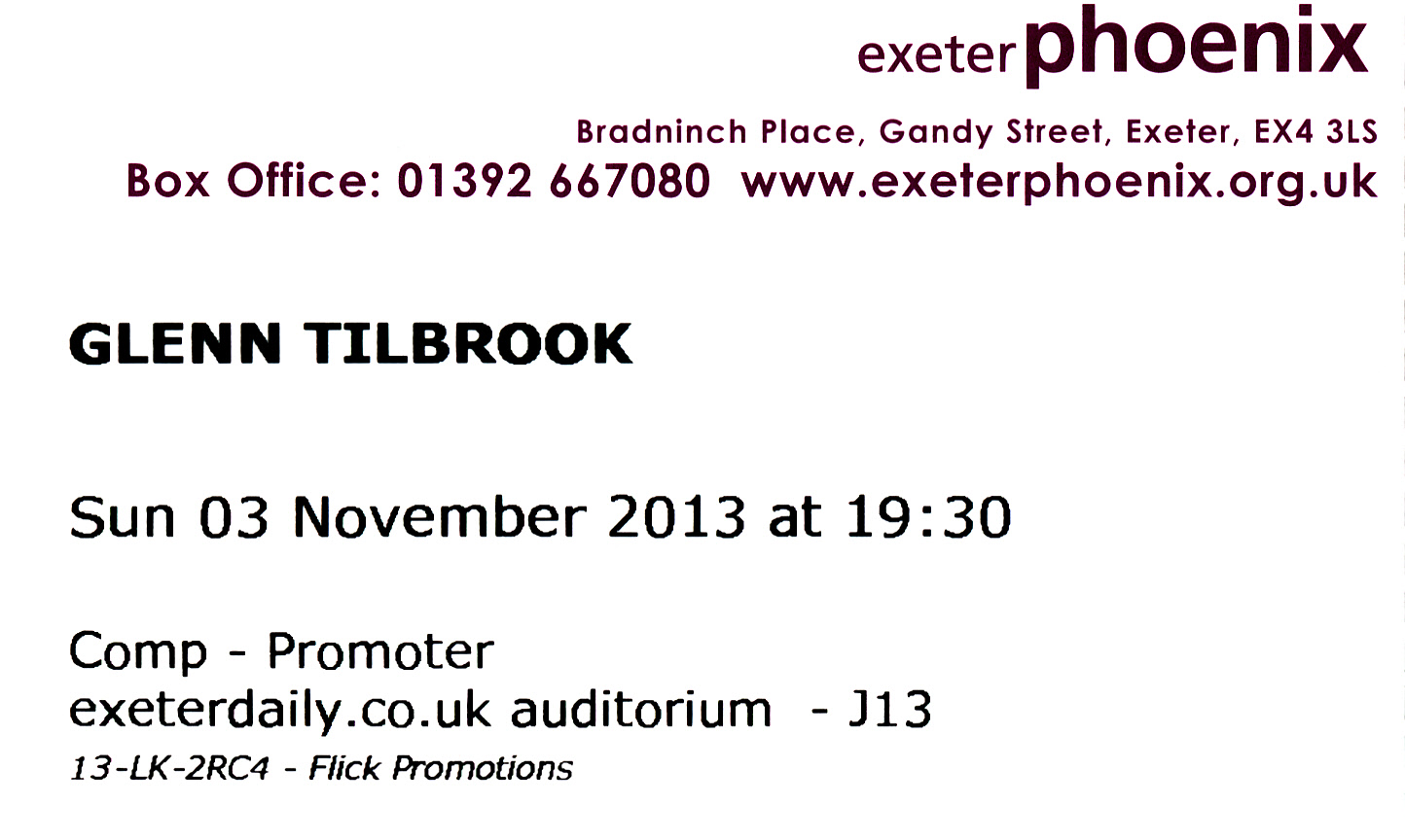2013-11-03 ticket