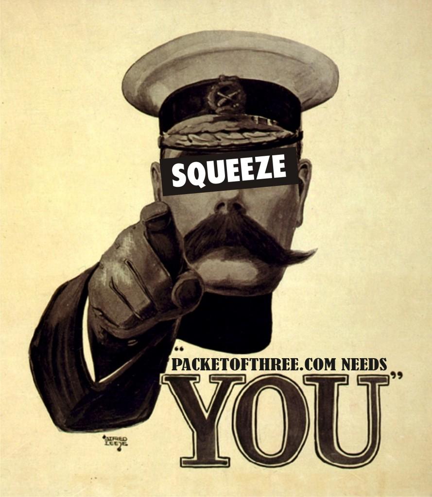YourSqueezeNeedsYou