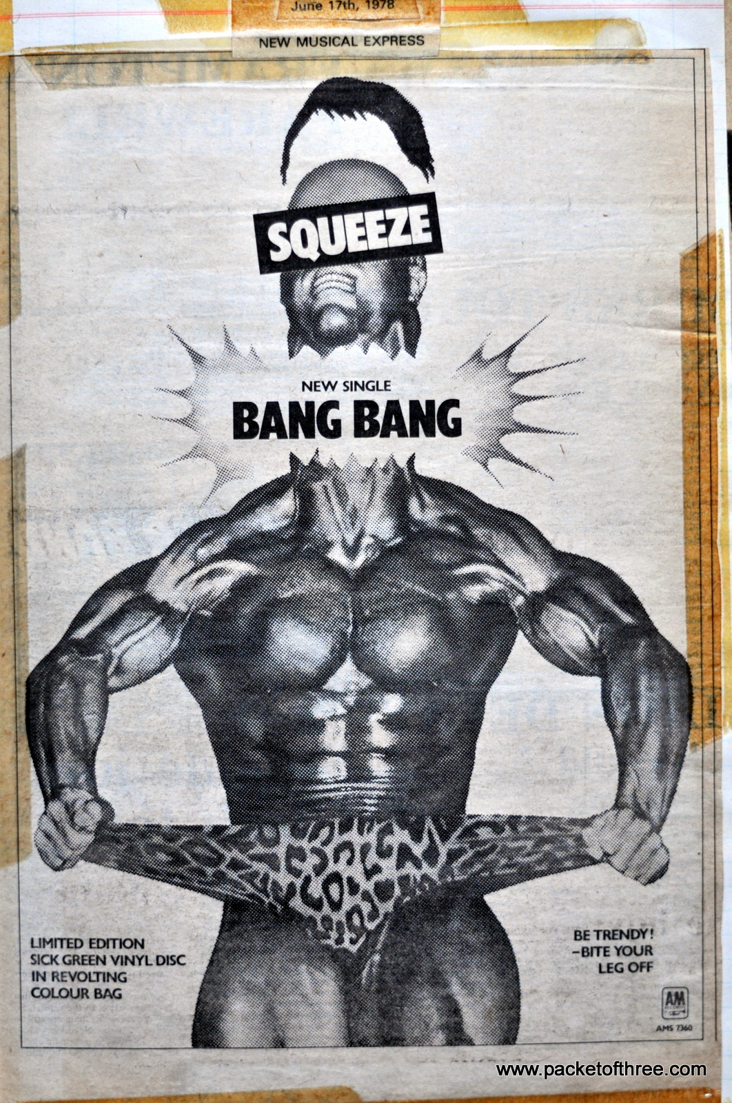 Bang Band - advert
