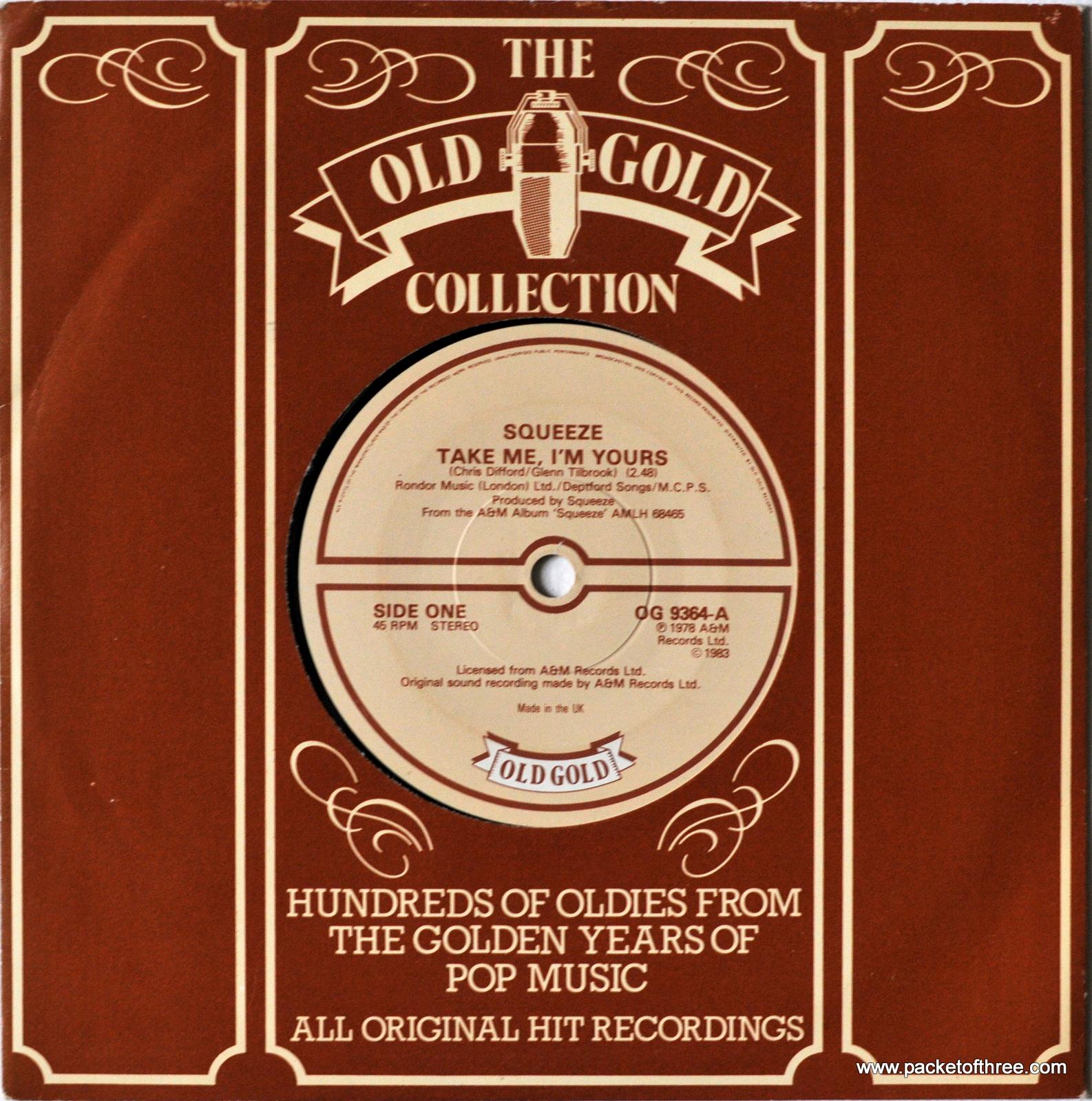 """OG9364 UK 7"""" Old Gold Reissue"""