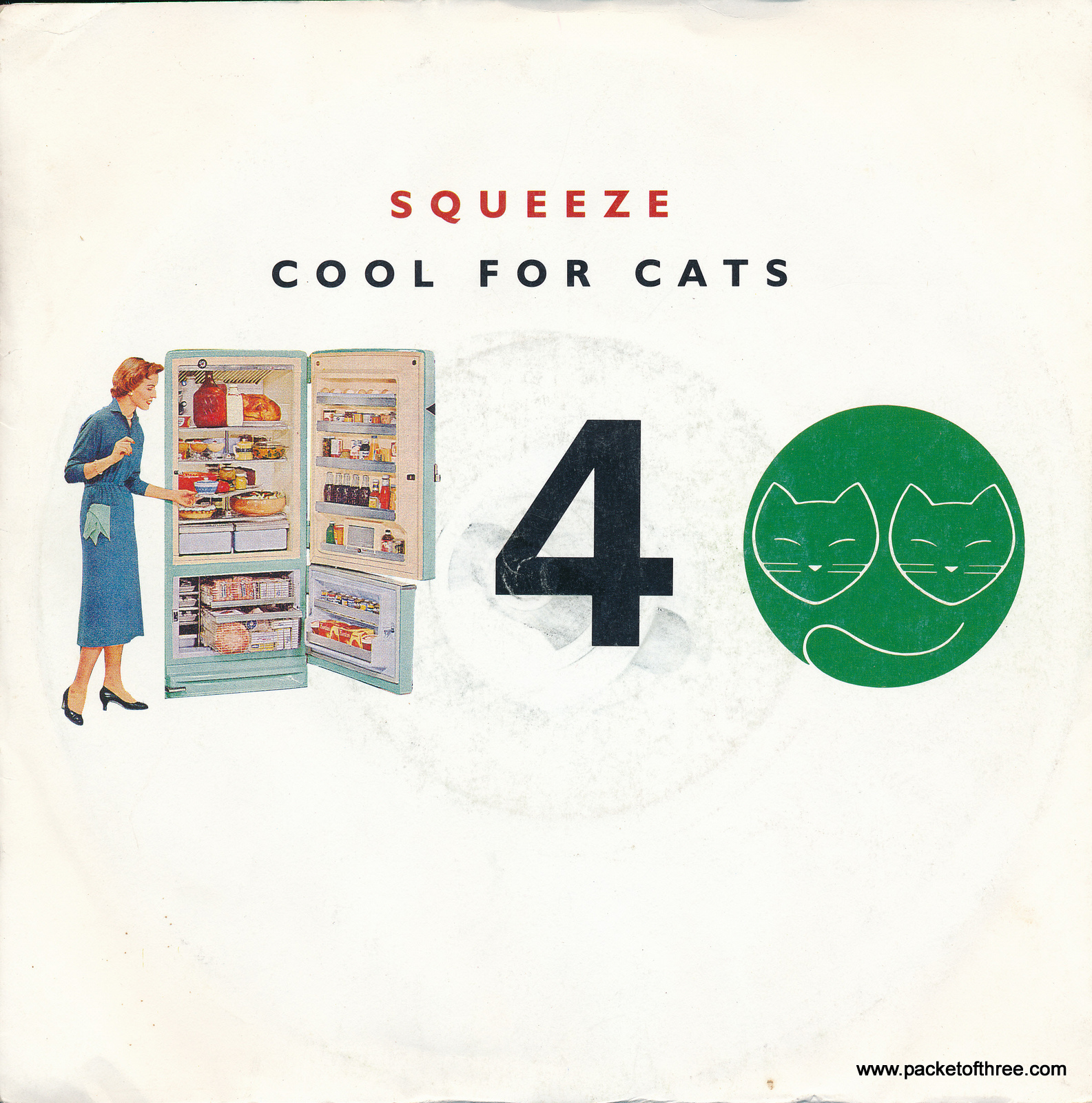 Cool For Cats – UK – 7″ – picture sleeve reissue