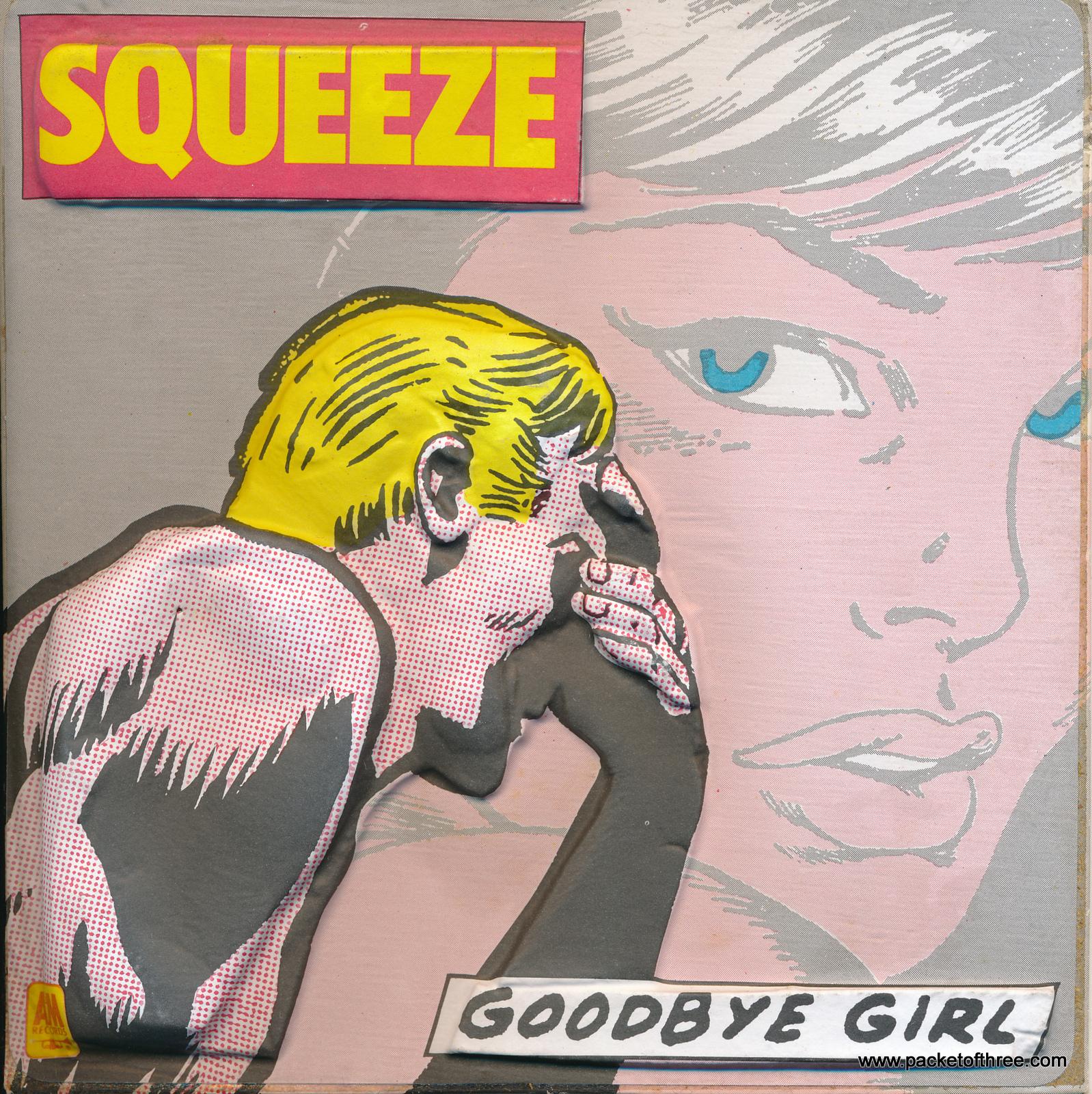 Goodbye Girl – UK – 7″ – 3D picture sleeve