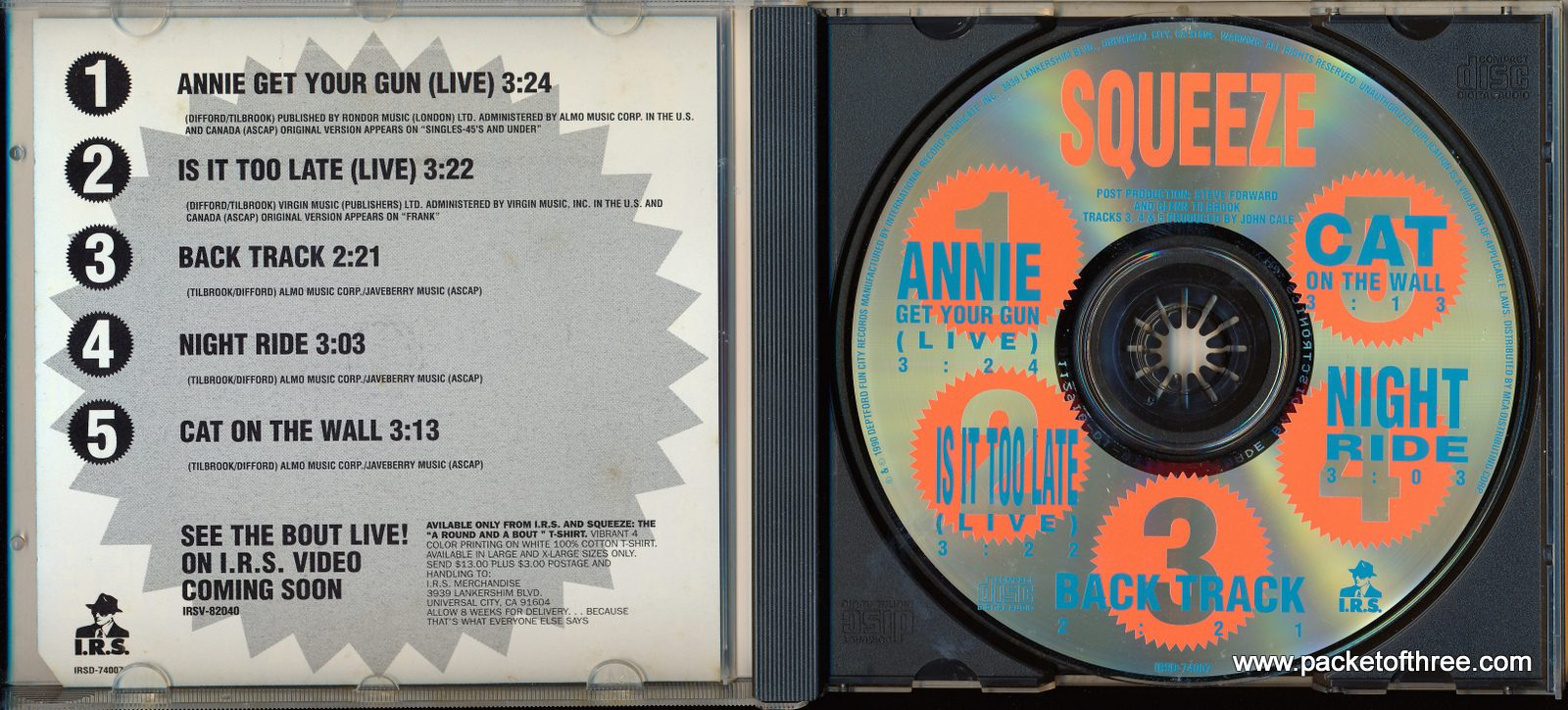 Annie Get Your Gun (Live) - USA - CD Single