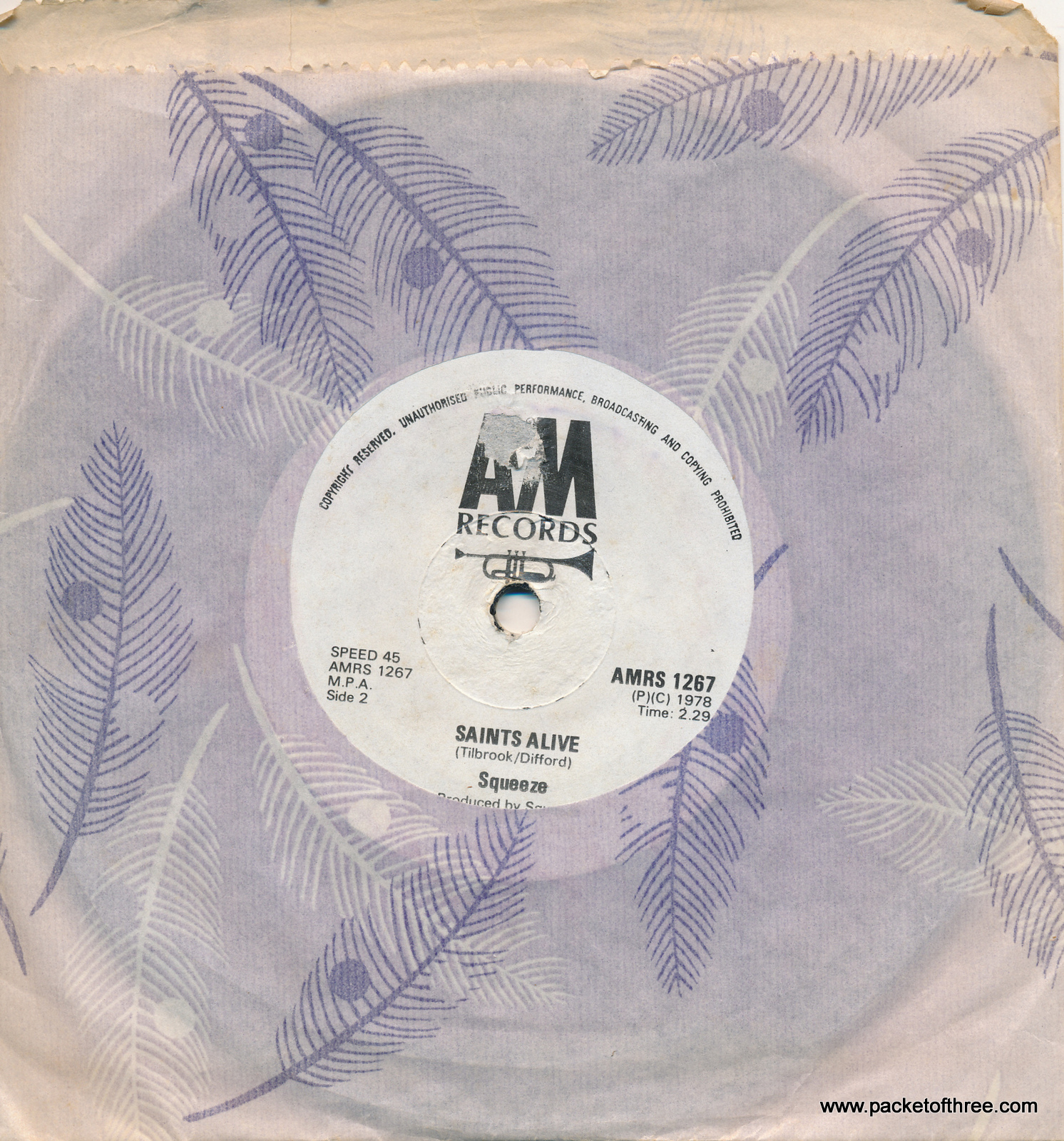AMRS 1267 Goodbye Girl - Republic of South Africa - 7""
