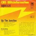 "Up the Junction - Germany - 7"" - picture sleeve promo"