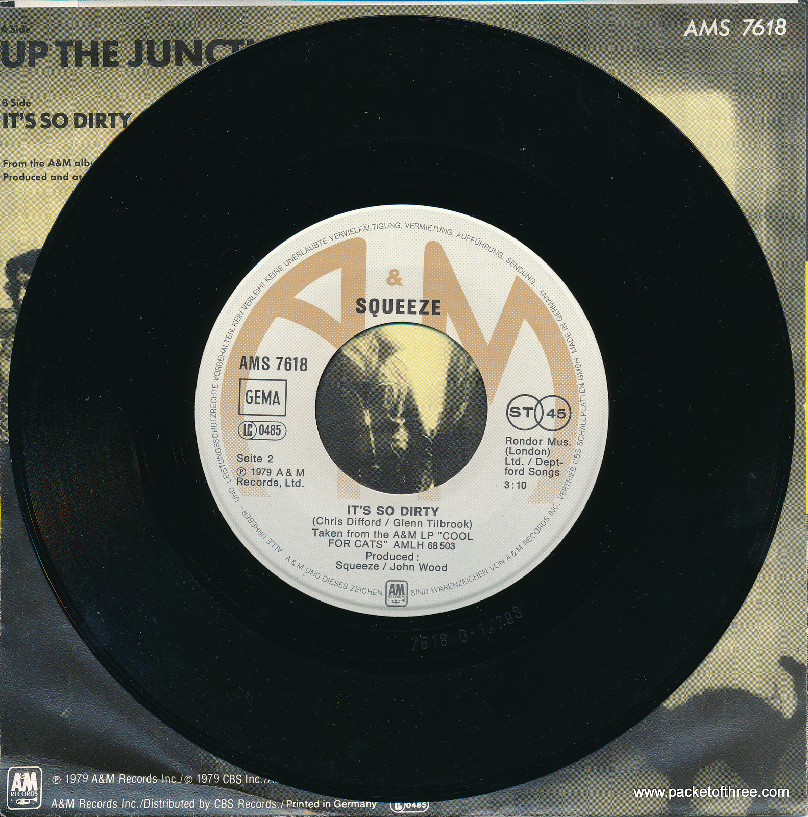 "Up the Junction - Germany - 7"" - picture sleeve"