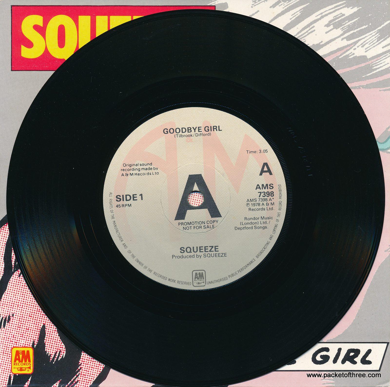 Goodbye Girl – UK – 7″ – picture sleeve promo