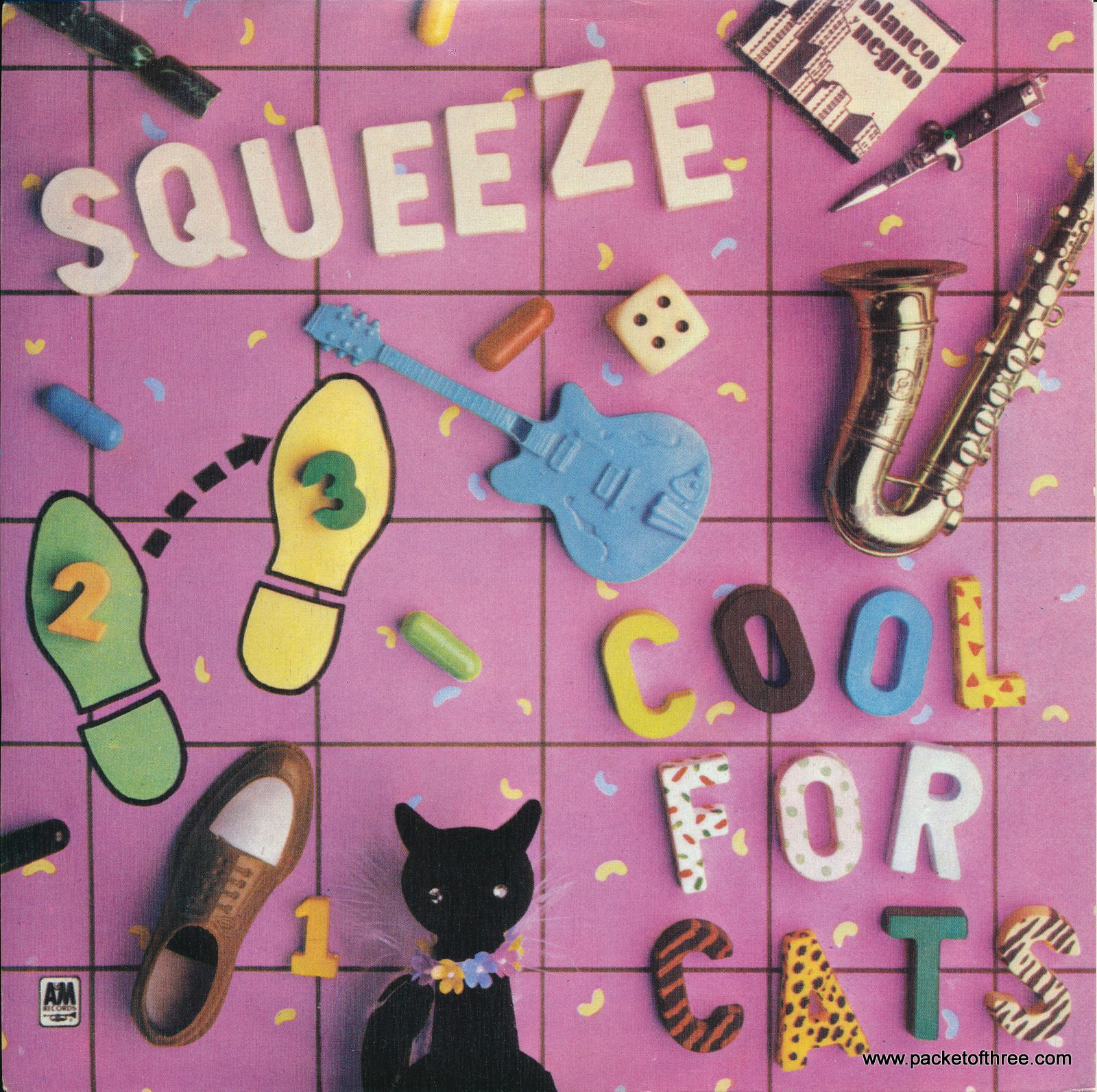 """Cool For Cats - Spain - 7"""" - picture sleeve"""