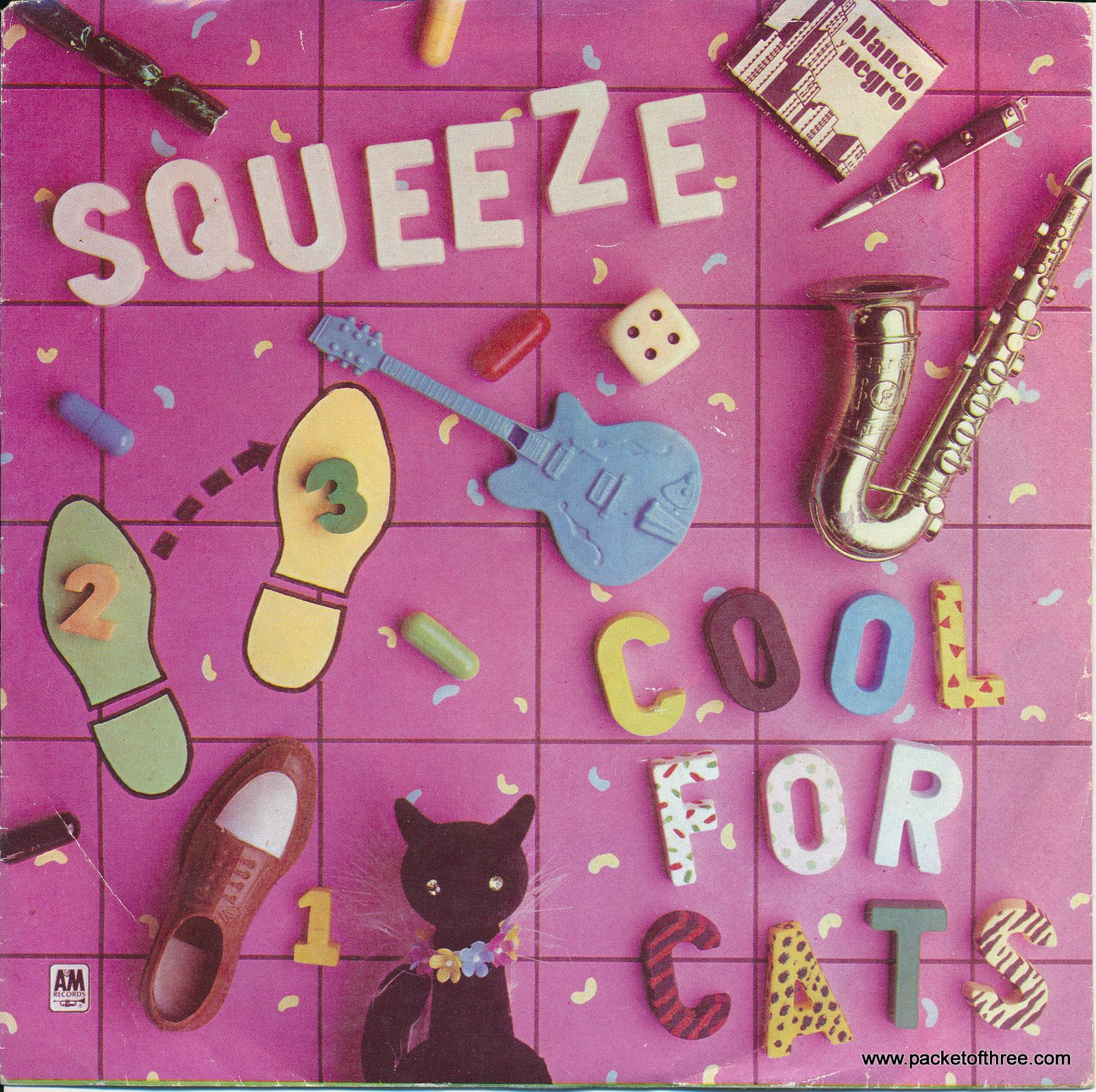 """Cool For Cats - USA - 7"""" - picture sleeve"""