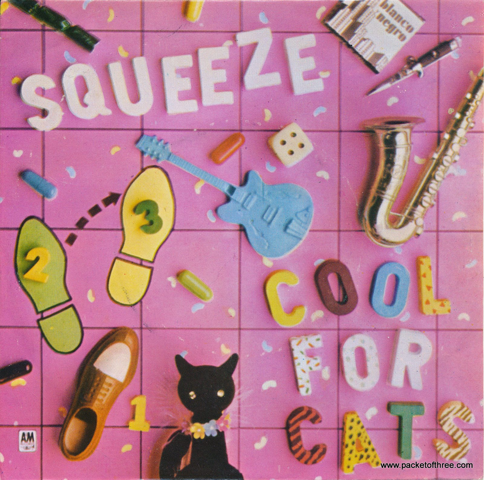 """Cool For Cats - Portugal - 7"""" - picture sleeve"""