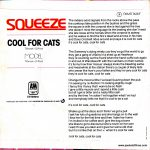 "Cool For Cats - Portugal - 7"" - picture sleeve"